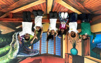 El Museo Trick Eye recibe a niños y jóvenes de PRAE, brindando experiencias interactivas
