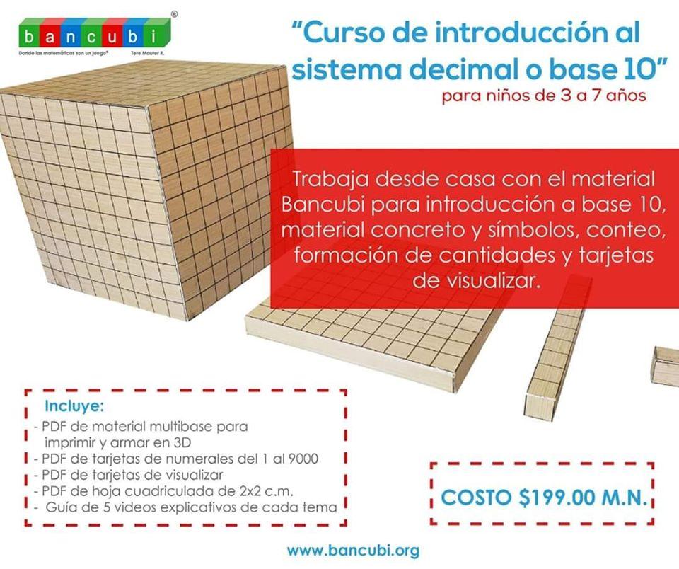 Curso de introducción al sistema decimal o base 10 – Bancubi